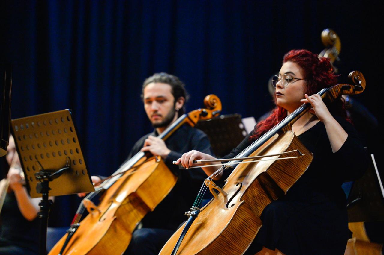 Üniversitemiz Güzel Sanatlar Eğitimi Bölümünden Müzik Ziyafeti