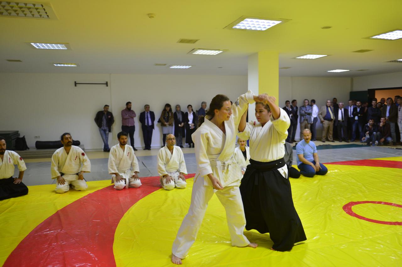 Üniversitemizde Aikido Salonu Açıldı