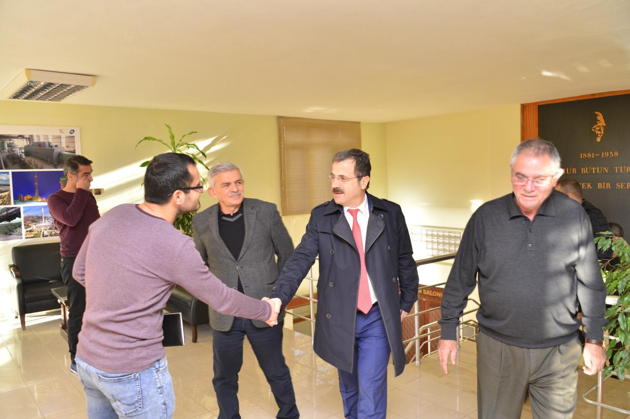 Rektörümüzden Yeniköy-Kemerköy ile Yatağan Termik Santrallerine Ziyaret