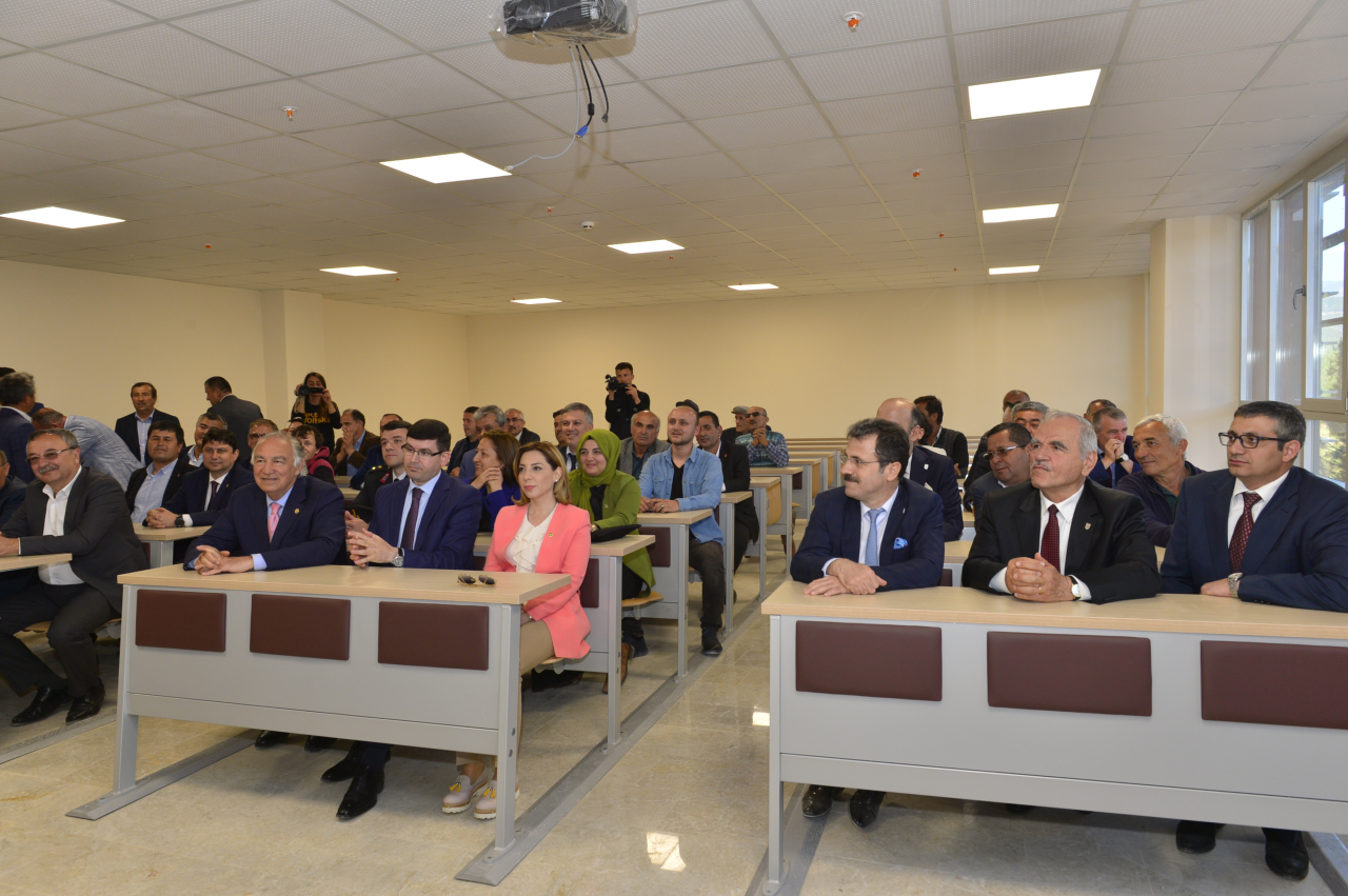 Seydikemer Uygulamalı Bilimler Yüksekokulu Törenle Açıldı