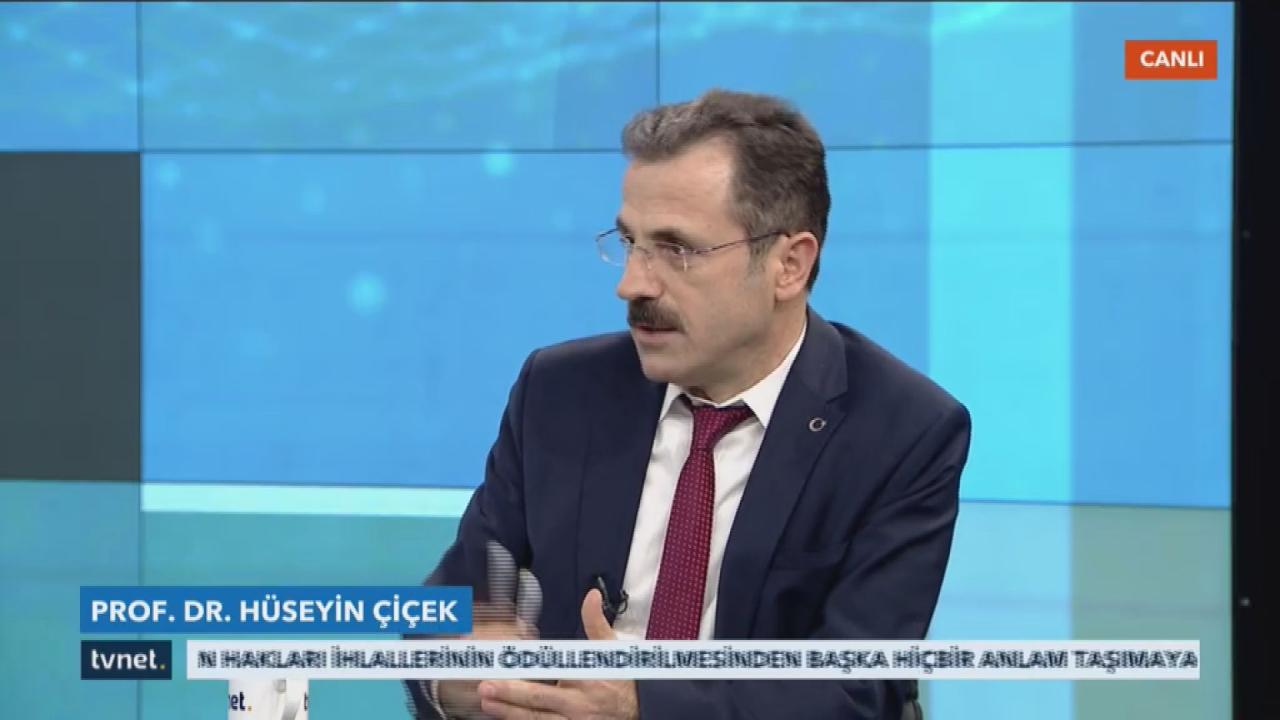 Rektör Prof. Dr. Çiçek, TVNET Yayınına Konuk Oldu