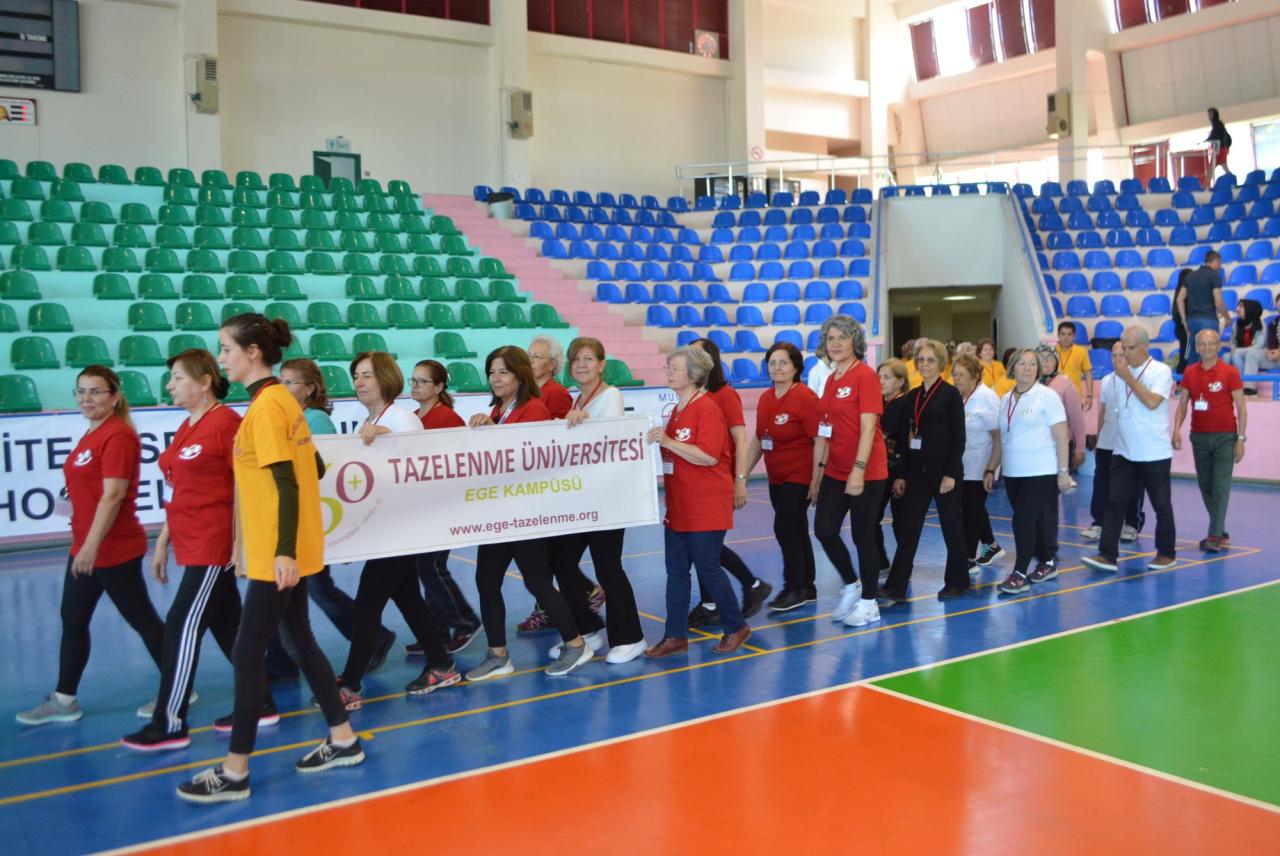 """Tazelenme Üniversitesinden Türkiye'de Bir İlk: """"Tazelenme Olimpiyatları"""""""