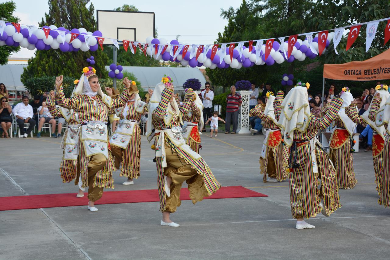 Ortaca MYO'da Mezuniyet Heyecanı