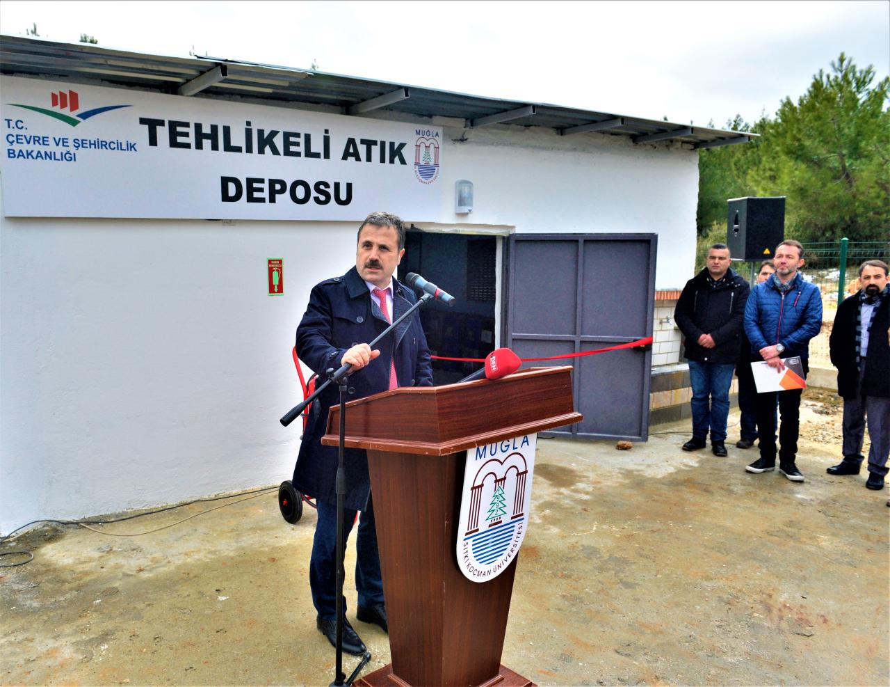 """Daha Yeşil Kampüs İçin, MSKÜ """"Tehlikeli Atık Deposu"""" Faaliyete Geçirildi"""