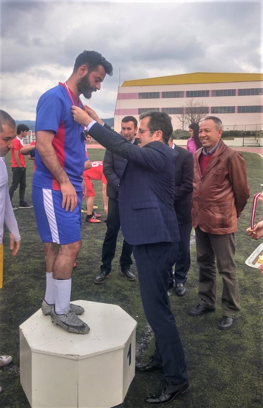 """""""25. Sıtkı Koçman Rektörlük Kupası"""" Sahiplerini Buldu"""