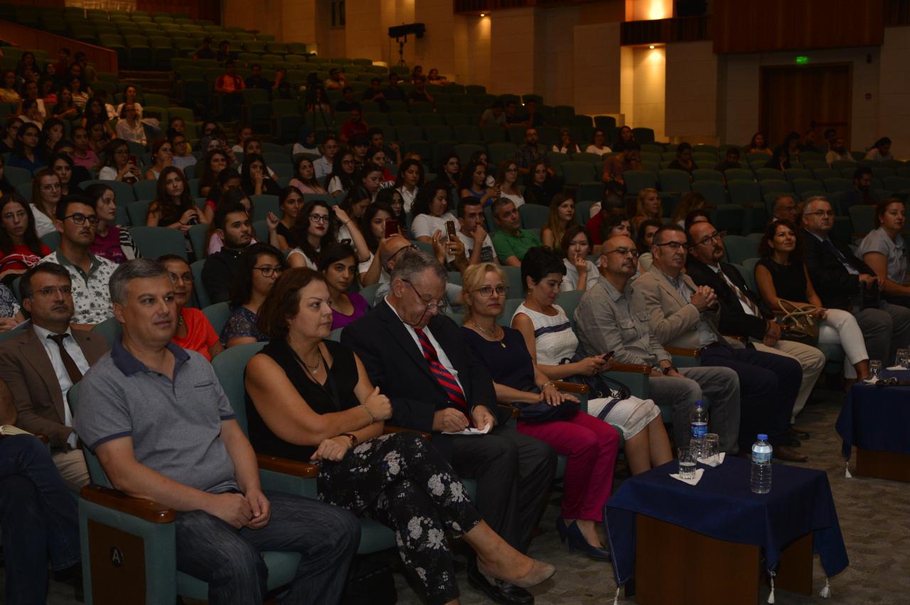 """Prof. Dr. Emin Kansu'dan """"Türkiye'de Bilim, Bilimsel Araştırmalar ve Geleceği Konferansı"""""""