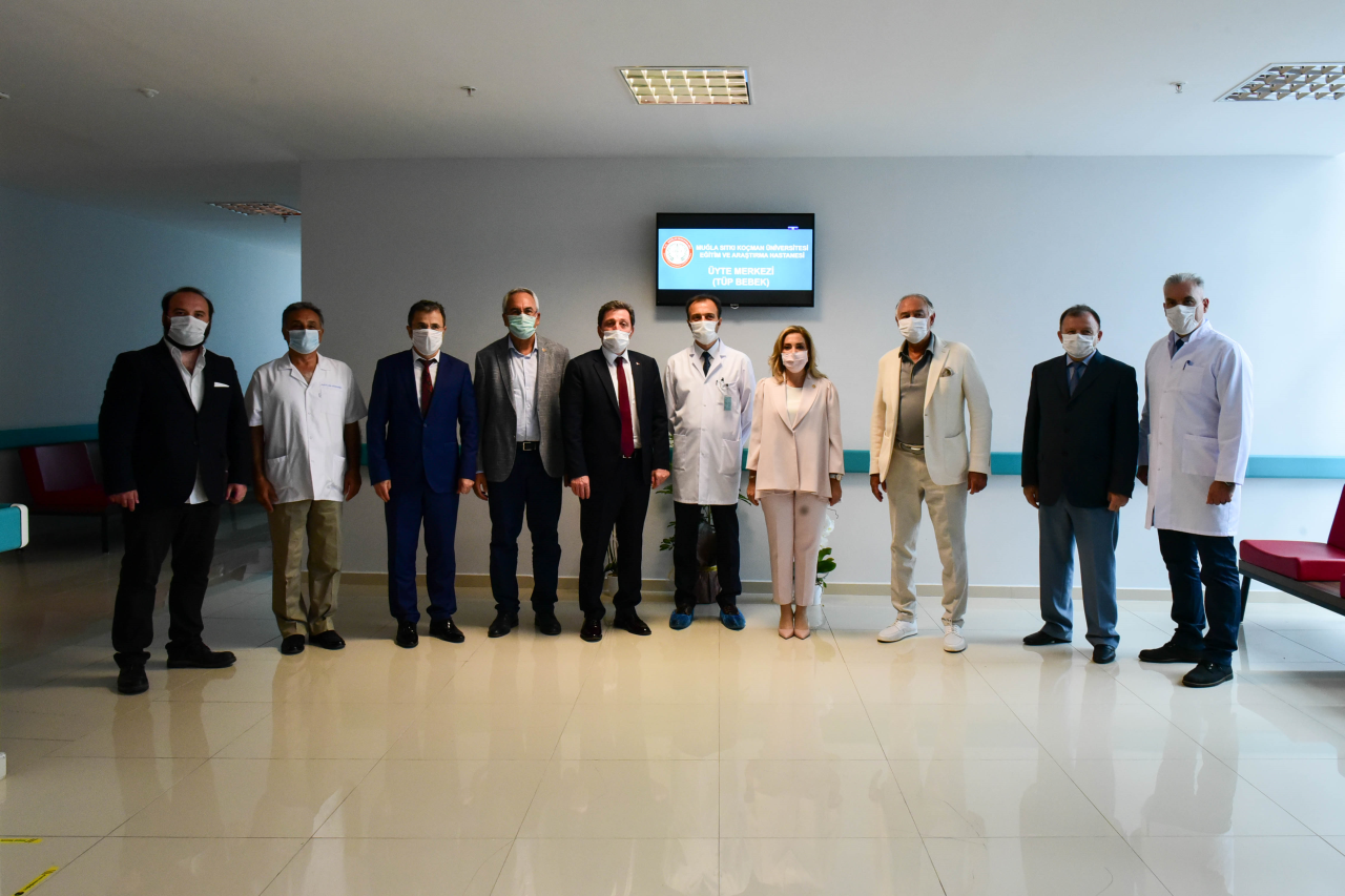 Muğla'nın İlk Tüp Bebek Merkezi Açıldı