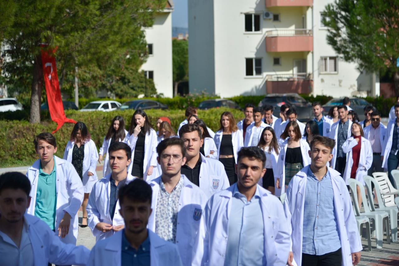 Milas Veteriner Fakültesi Beyaz Önlük Giyme Töreni Gerçekleştirildi