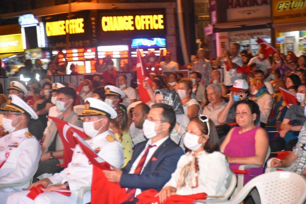 Muğla'da 15 Temmuz Etkinlikleri