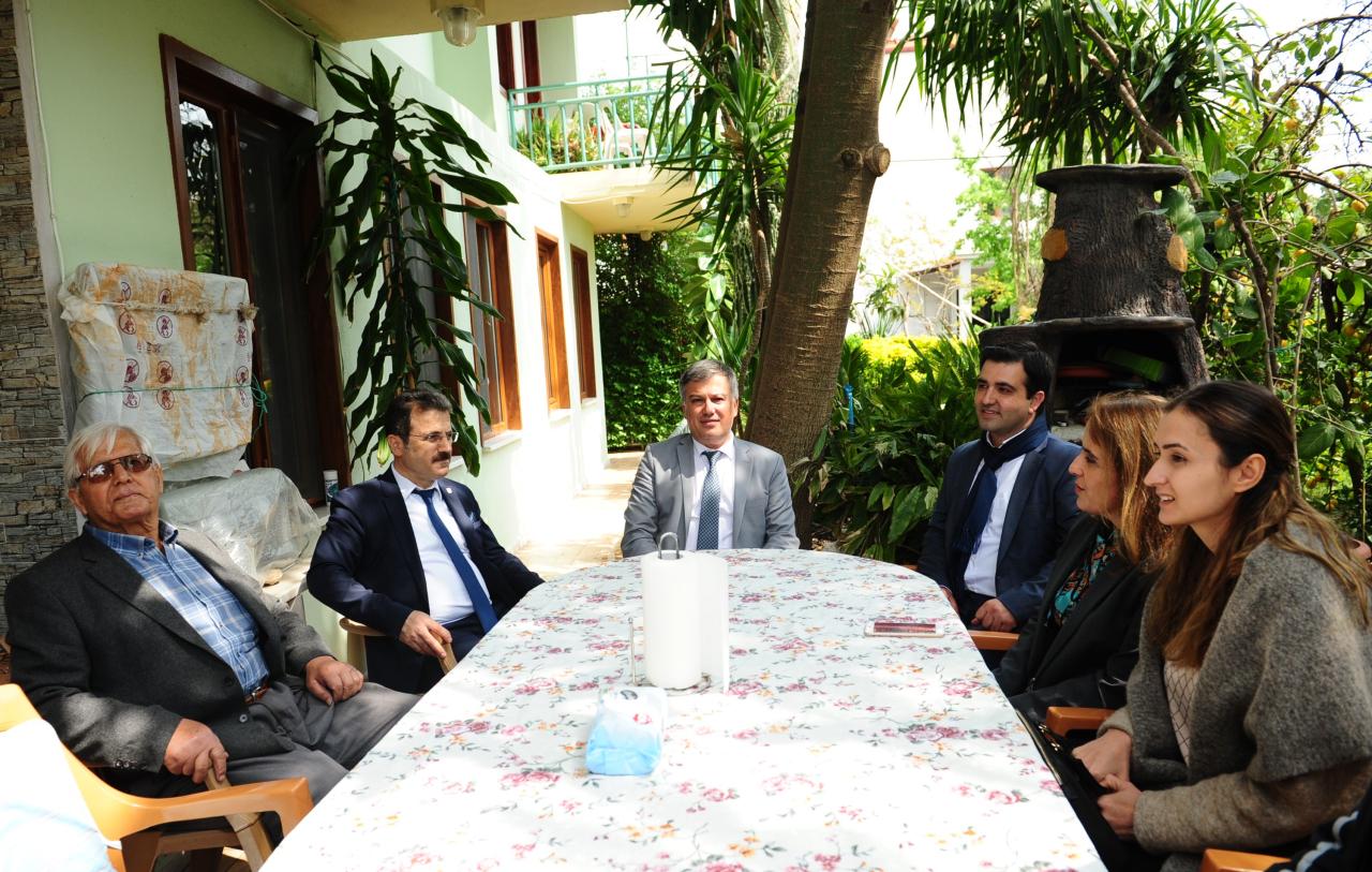 Hayırsever İşadamı Tümtürk'e Ziyaret