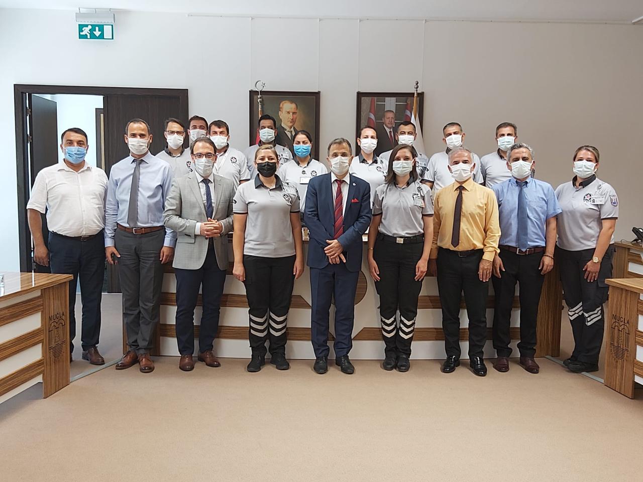 Rektör Çiçek, Güvenlik Görevlilerinin Güvenlik Haftasını Kutladı