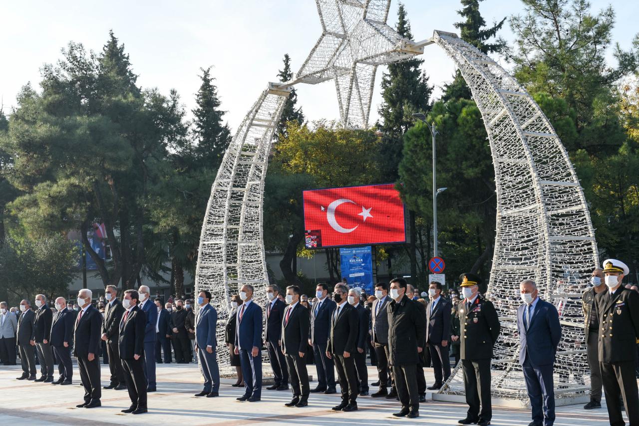 Büyük Önder Atatürk Muğla'da Anıldı