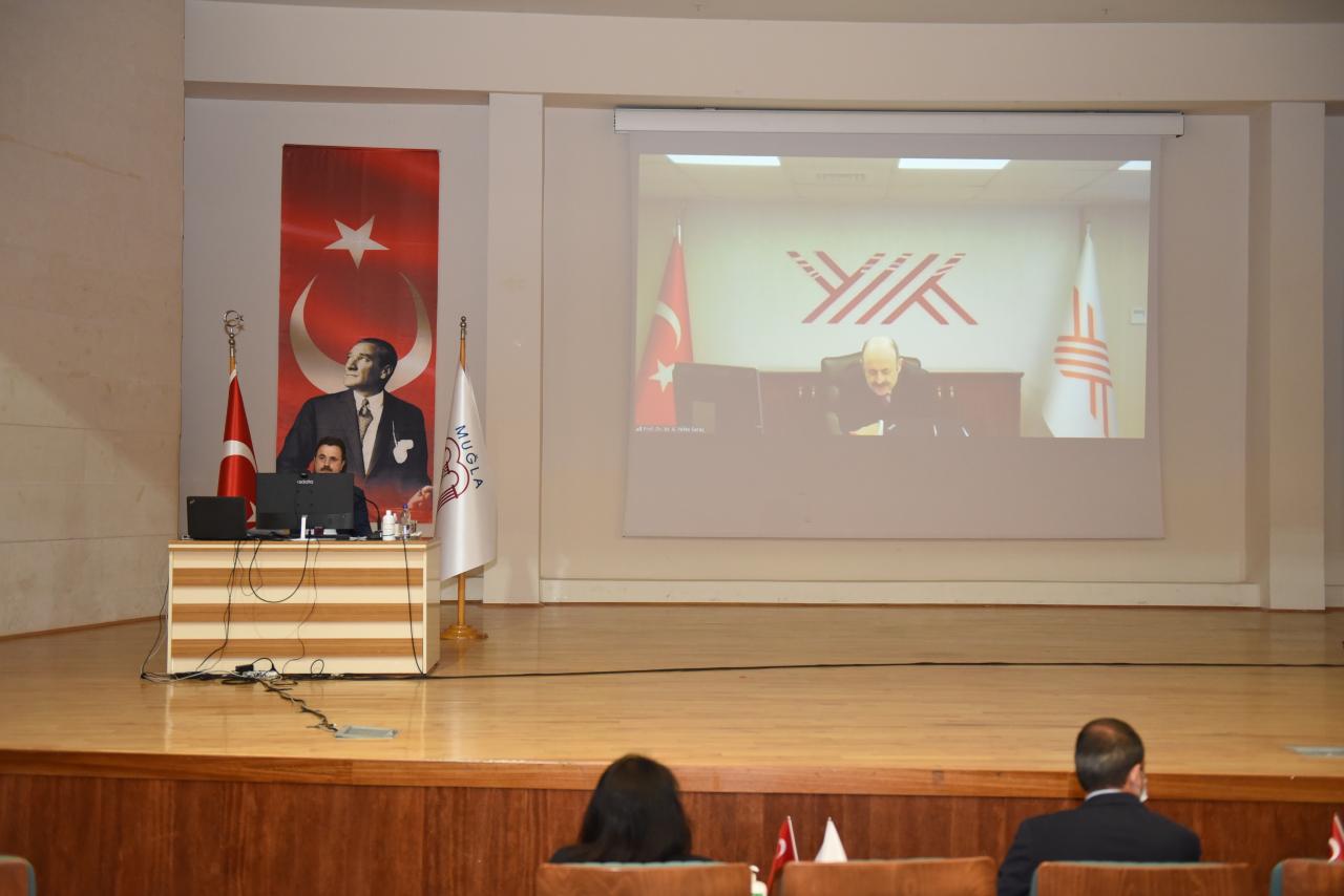 Prof. Dr. Yekta Saraç, MSKÜ Senato Toplantısı'na Katıldı
