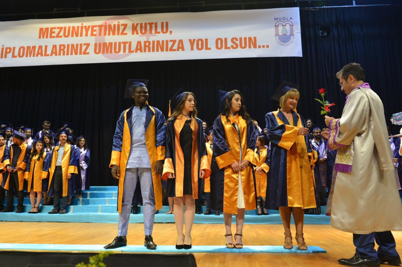 """Üniversitemiz """"Genel Mezuniyet Töreni"""" ile Öğrencilerini Mesleki Yaşamlarına Uğurlamanın Sevincini Yaşadı"""