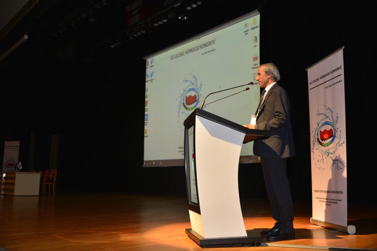 10. Ulusal Hidroloji Kongresinin Açılışı Gerçekleşti