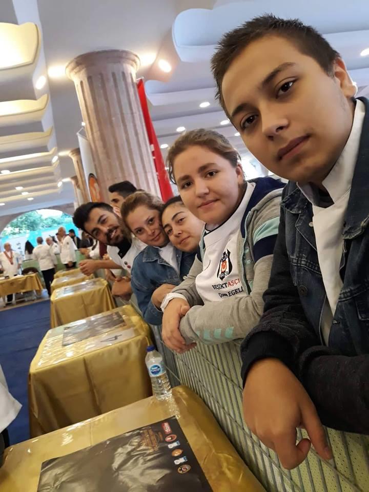 MSKÜ Datça Aşçılık Öğrencilerimize Alanya'da Madalya Yağmuru