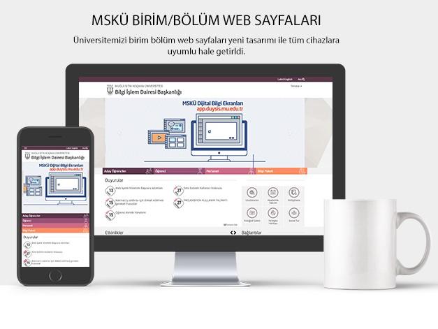 Web Sayfaları Yeni Tasarıma Geçiyor