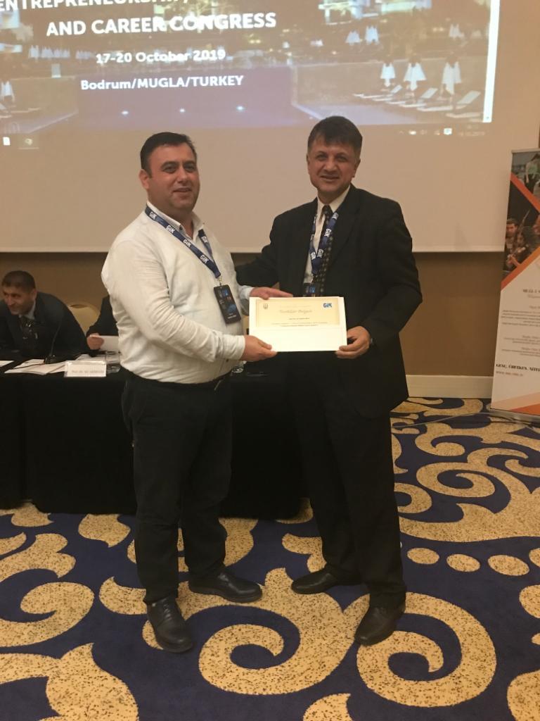Muğla'da Uluslararası Girişimcilik, İstihdam ve Kariyer Kongresi