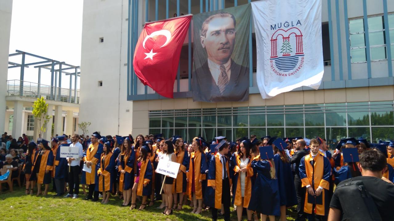 Fethiye İşletme Fakültesi, 187 Öğrenciyi Mezun Etti