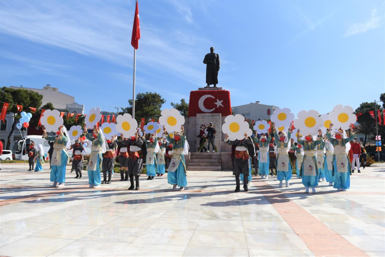 Muğla'da 23 Nisan Törenle Kutlandı