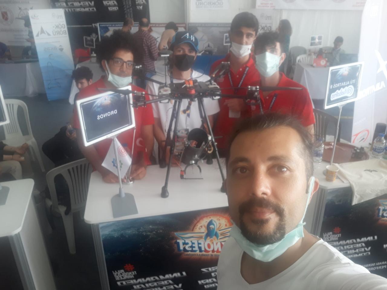 MSKÜ, Teknofest 2021'den Ödül İle Döndü