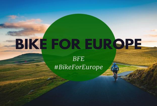 """Üniversitemizin Temsil Edildiği """"Bike For Europe"""" Projesi Başarıyla Tamamlandı"""
