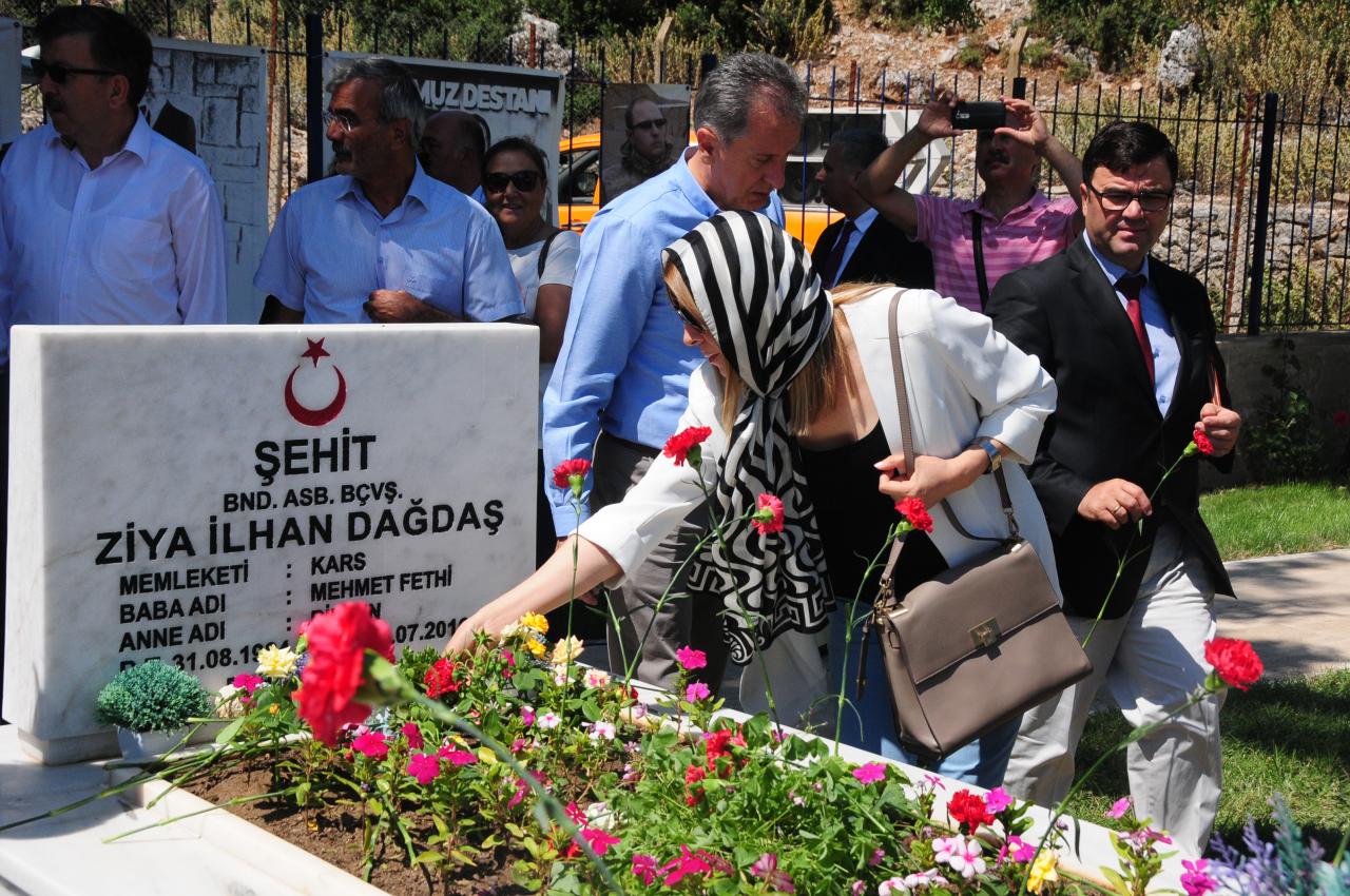 Muğla'da 15 Temmuz Demokrasi ve Milli Birlik Günü Anma Etkinlikleri Düzenlendi