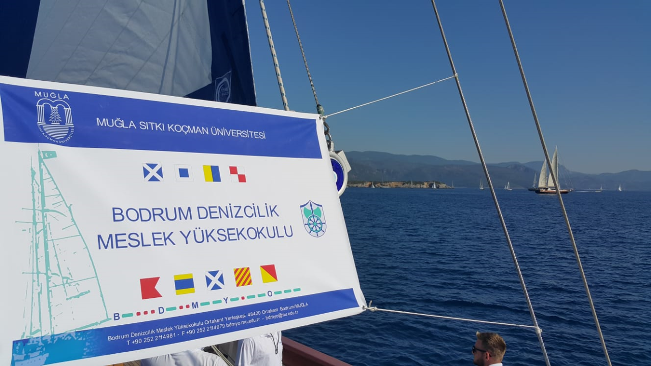 Bodrum Maritime Vocational School returned from The Bodrum Cup with trophies.