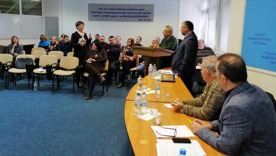 Su Sorunları İçin Ukrayna'da Bir Araya Geldiler