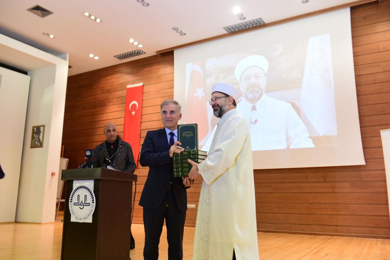 Diyanet İşleri Başkanı Prof. Dr. Ali Erbaş Öğrencilerle Buluştu