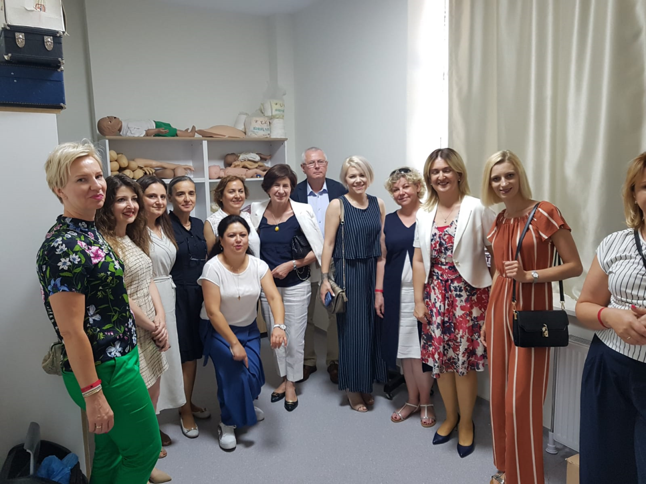 Polonya Üniversitesinden Üniversitemize Gelen 8 Kişilik Öğretim Elemanı Ekibi Rektörümüzü Ziyaret Etti