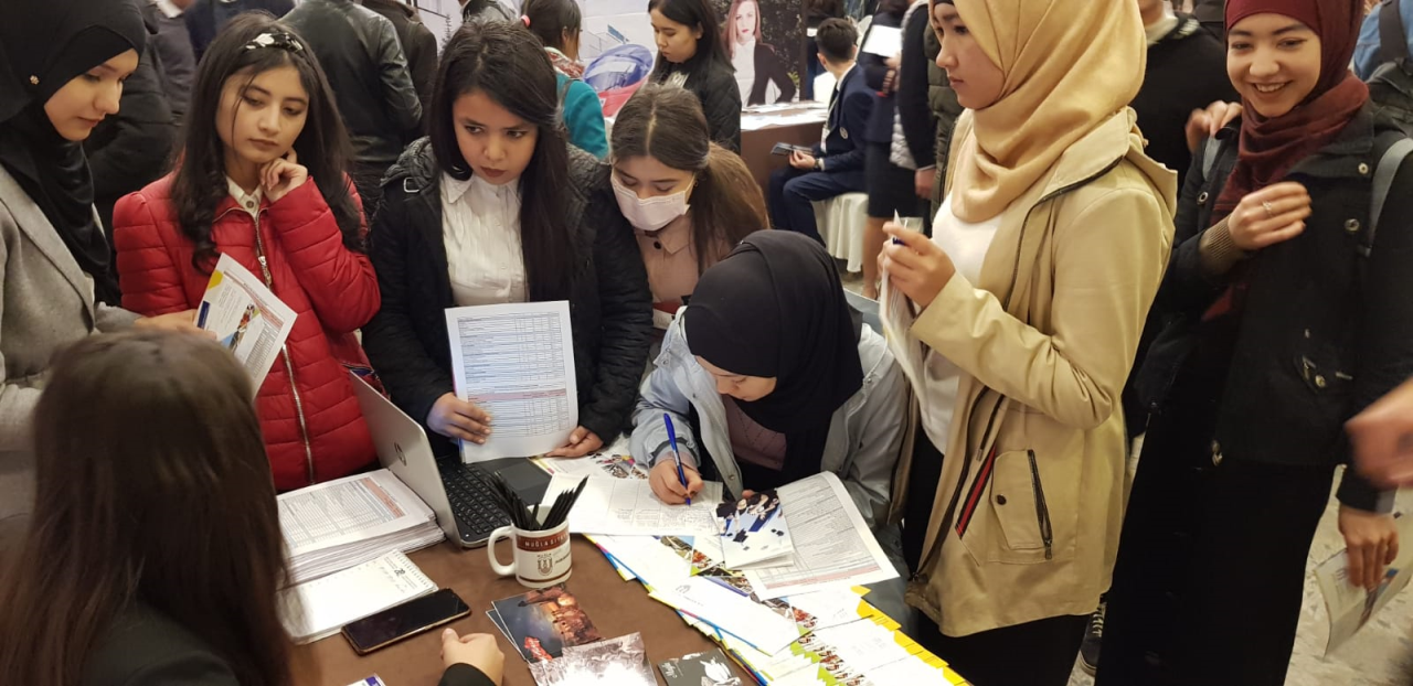 Üniversitemiz Özbekistan'da Tanıtıldı