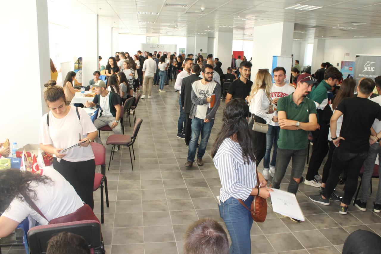 Milas MYO'da Öğrenci-Sektör Buluşması