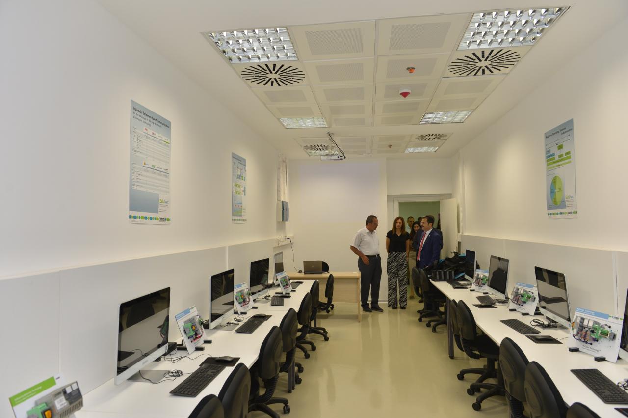 PLC Laboratuvarı Açıldı