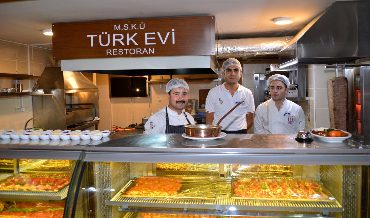 Türkevi Restoran Hizmete Girdi