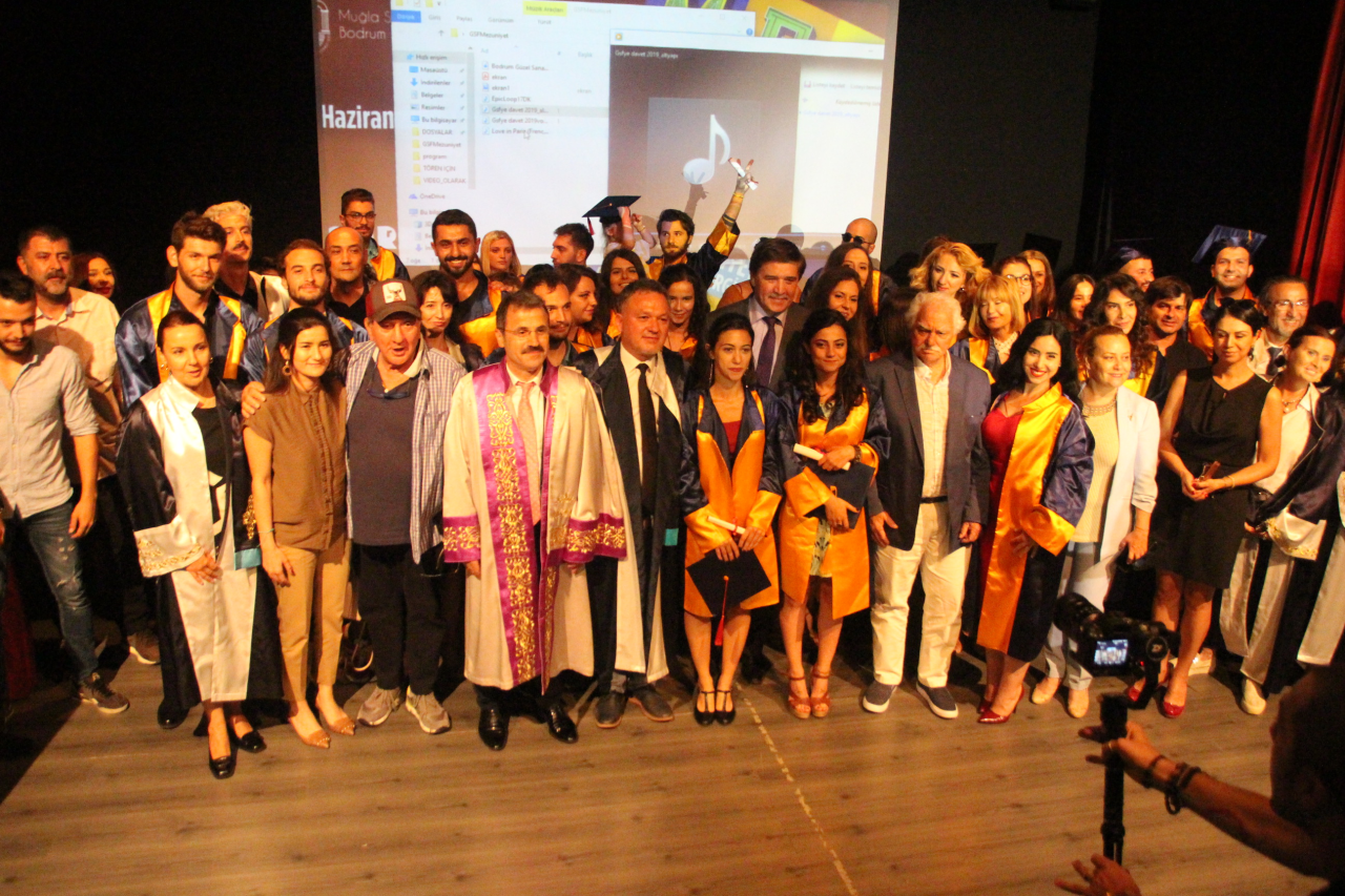 Güzel Sanatlar Fakültesi Sanat Dünyasına Mezunlarını Kazandırdı