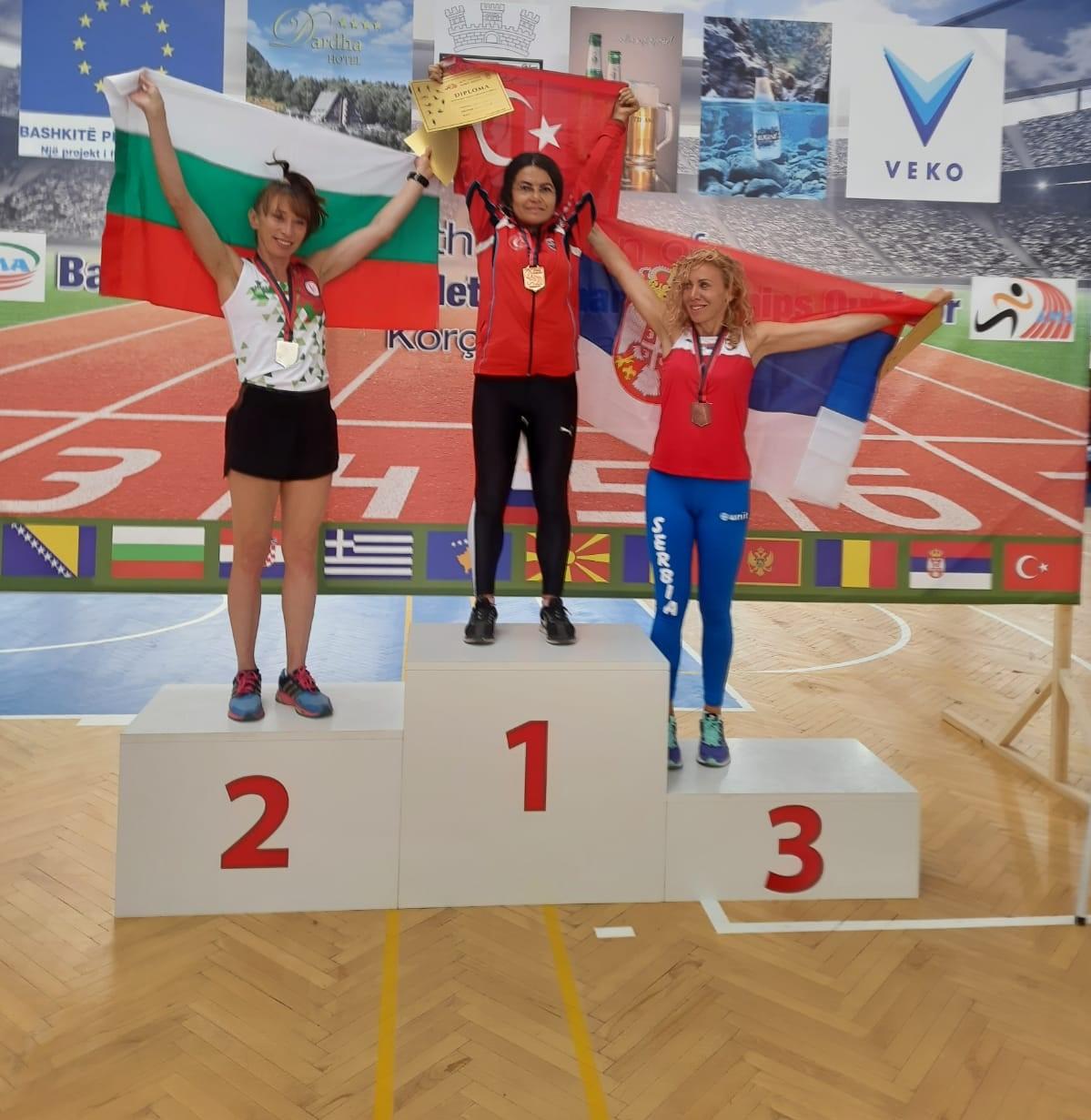 Öğretim Üyemiz Balkan Masterlar Atletizm Şampiyonasında Göğsümüzü Kabarttı